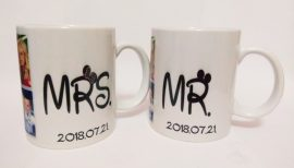 Mr és Mrs bögre szett (2 db)