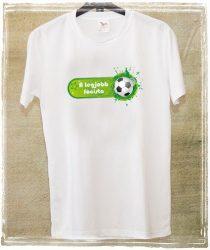 Egyedi póló focista