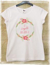 Egyedi legjobb anya póló
